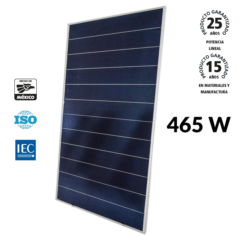 Panel Solar Fotovoltaico de 465 W Monocristalino