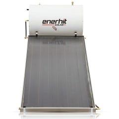 Calentador solar con cubierta de vidrio texturizado 150 L de 3-4 personas Enerhit