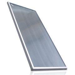 Colector solar de vidrio texturizado