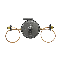 Regulador Gas L.P. Baja Presion para 2 Cilindros Mod. REG201 PSMC