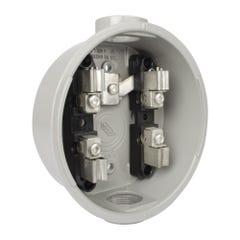 Base para watthorímetro monofásica para alta contaminación 600 V~