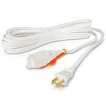 Extensión eléctrica doméstica, Cal. 16, blanca IUSA