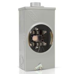 Base cuadrada para watthorímetro, 7 terminales