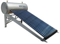 Calentador solar 12 tubos 150 litros para 3-4 personas