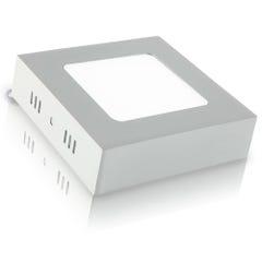Lámpara LED cuadrada para sobreponer, luz blanca