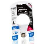 Foco LED A19 luz blanca, en blister