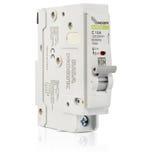 Interruptor termomagnético enchufable, 1 polo