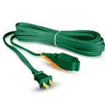 Extensión eléctrica doméstica, Cal. 16, verde