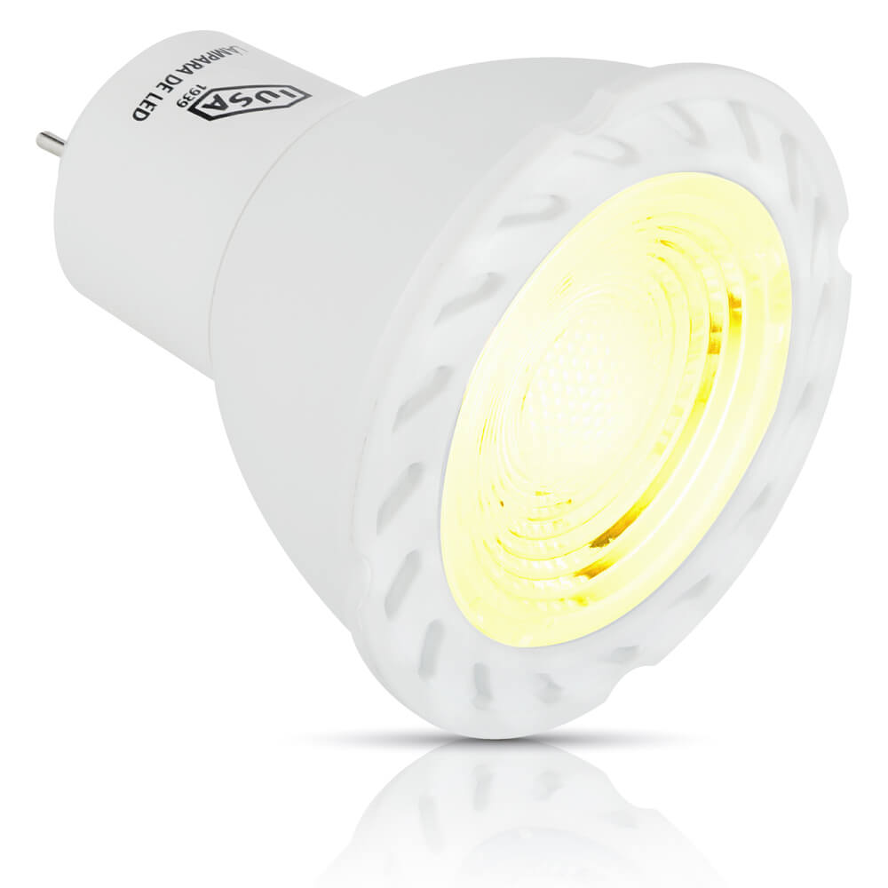 Foco LED MR16 con base GU5.3