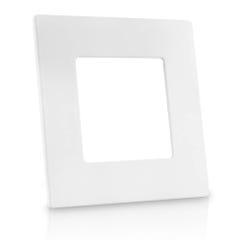 Lámpara LED cuadrada para empotrar, luz blanca