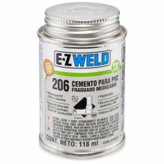 Cemento gris para PVC C-80, modelo 206
