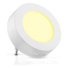 Lámpara LED redonda para sobreponer, luz cálida