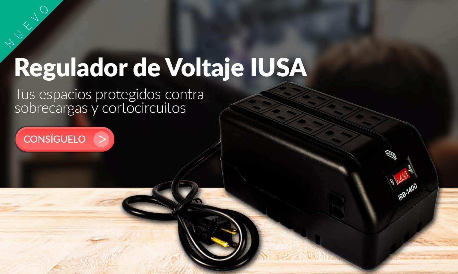 Regulador de Voltaje IUSA