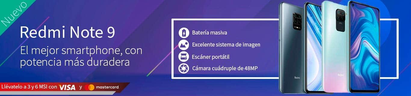 Redmi Note 9 con 3 o 6 MSI