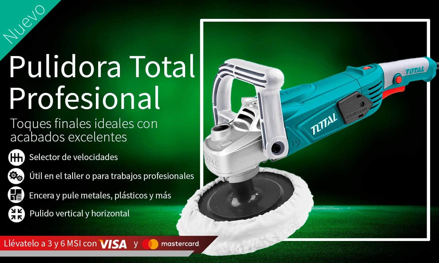 Pulidora Total Profesional con 3 y 6 MSI