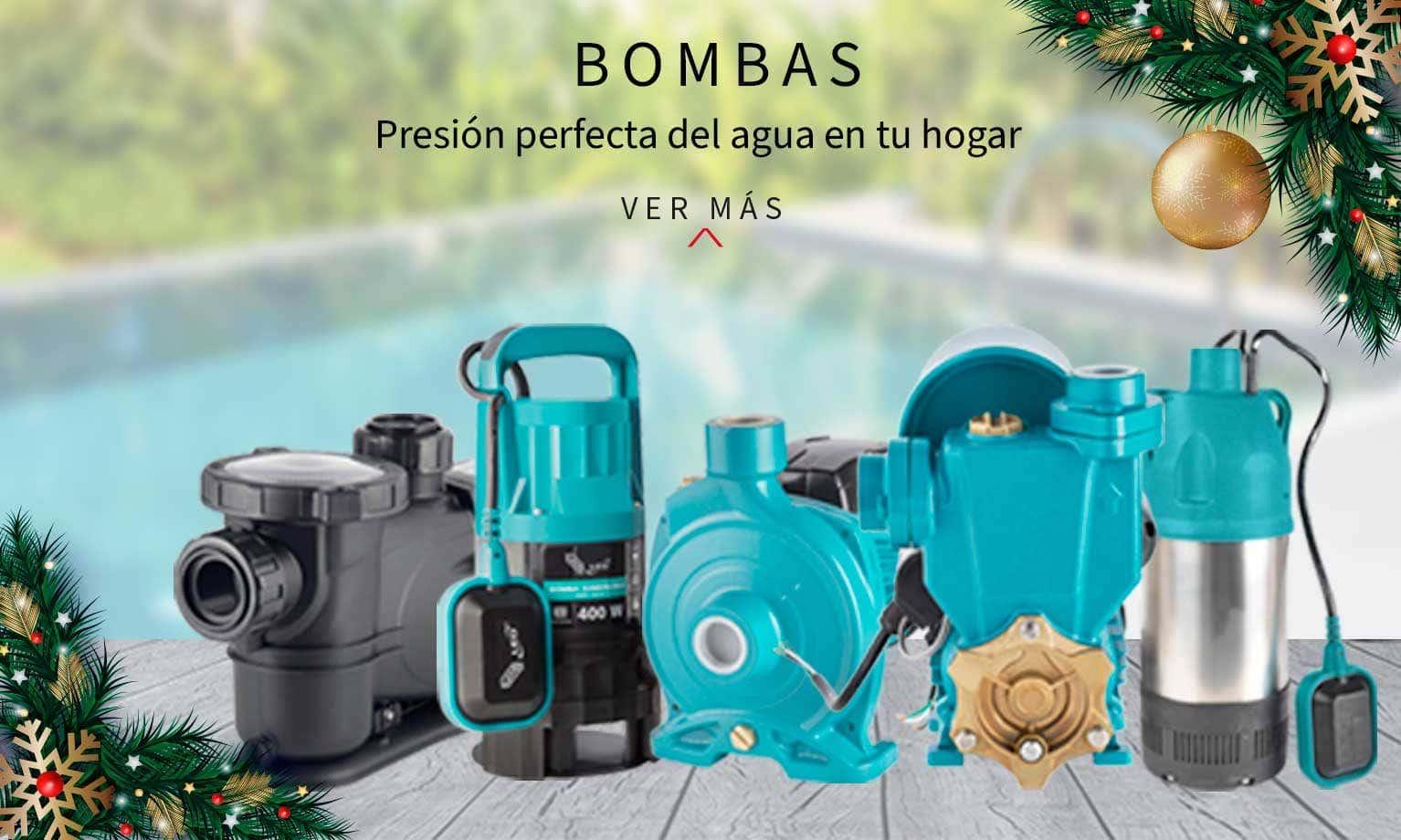 Bombas, presión perfecta del agua en tu hogar